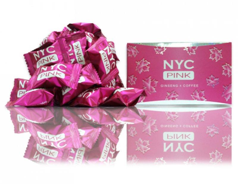 NYC Pink -キャンディータイプの女性用媚薬-15粒