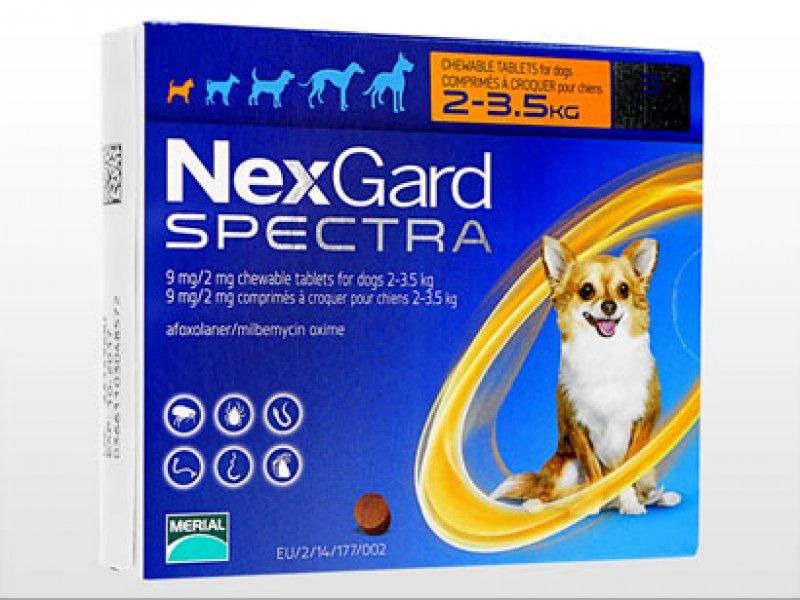 ネクスガードスペクトラ11.3超小型犬用の画像1