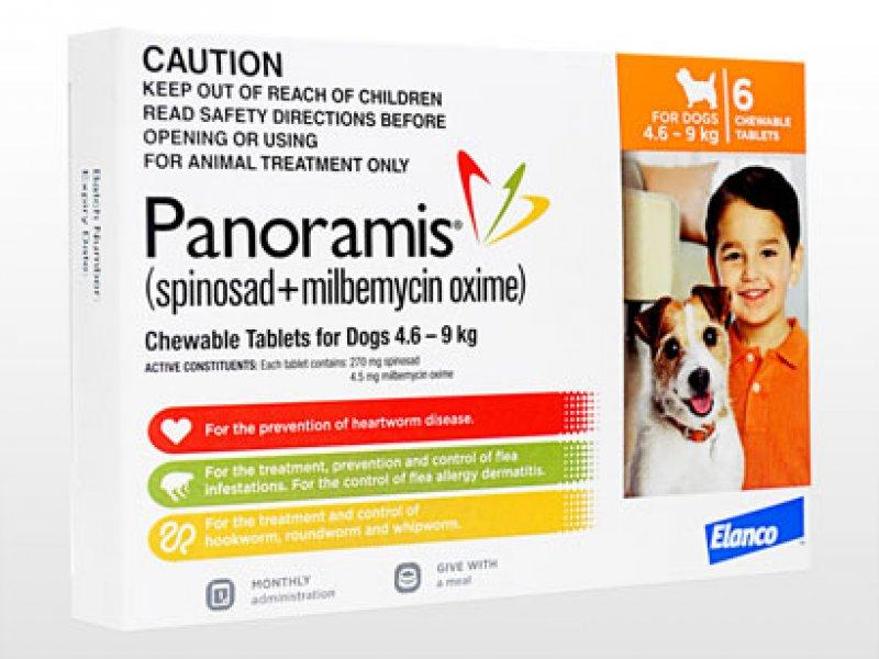 パノラミス錠小型犬用(4.6~9.0kg)の画像1