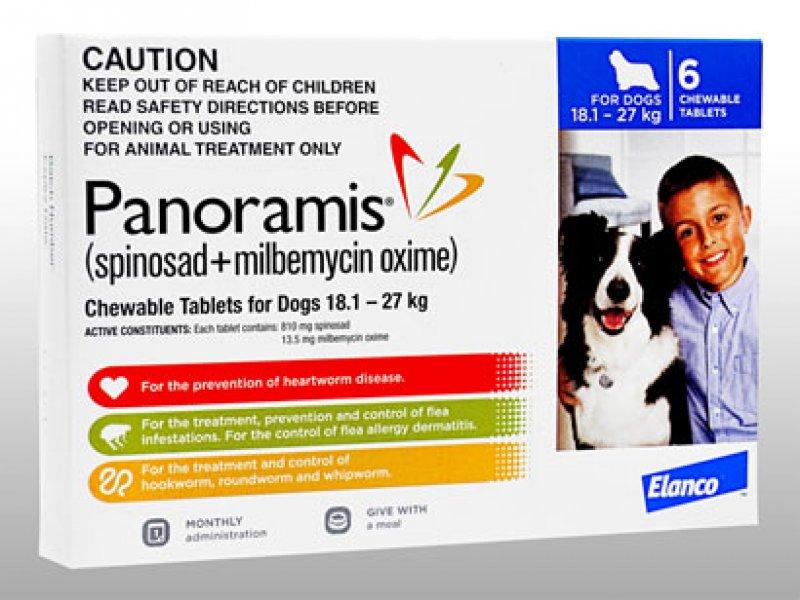 パノラミス錠大型犬用(18.1~27kg)の画像1
