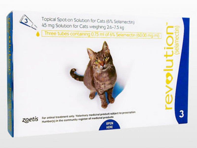 レボリューション猫用(2.6~7.5kg)の画像1
