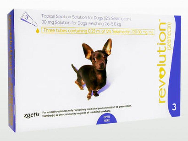 レボリューション超小型犬用(2.6~5kg)の画像1