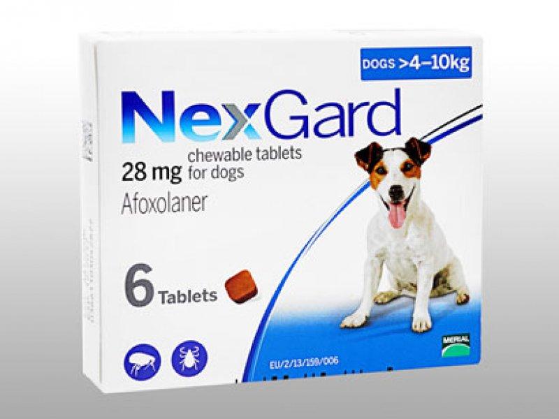 ネクスガード28mg小型犬用(4~10kg未満)の画像1
