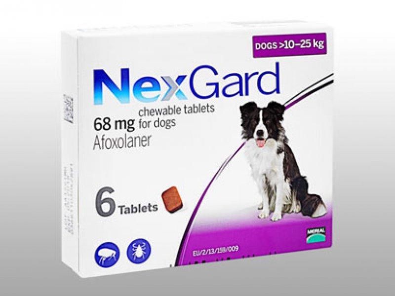 ネクスガード68mg中型犬用(10~25kg未満)の画像1