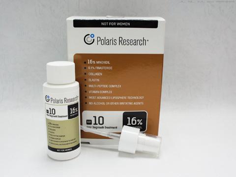 ポラリスNR10 ミノキシジル16% フィナステリド0.1% プラスαクリーム